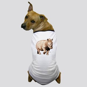 Rhino Rhinoceros Dog T-Shirt